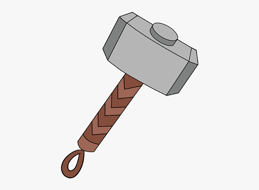 How To Draw Thor\'s Hammer.