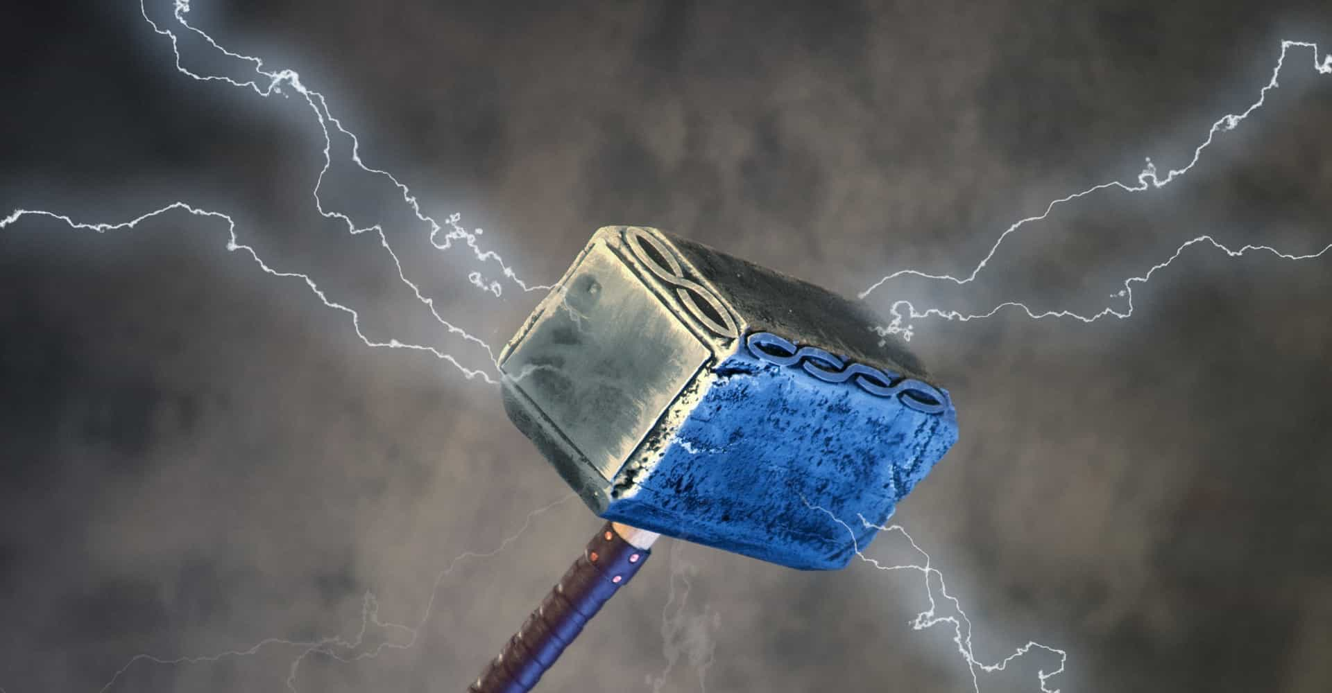 Someone stole—then returned—Thor\'s hammer.