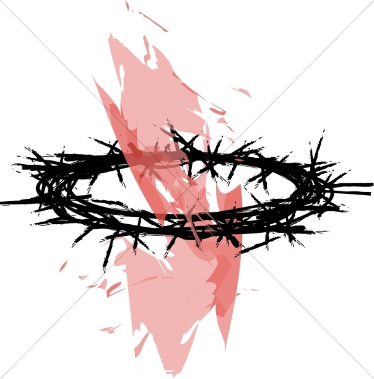 What is the symbolism behind the Crown of Thorns in the Passion of.