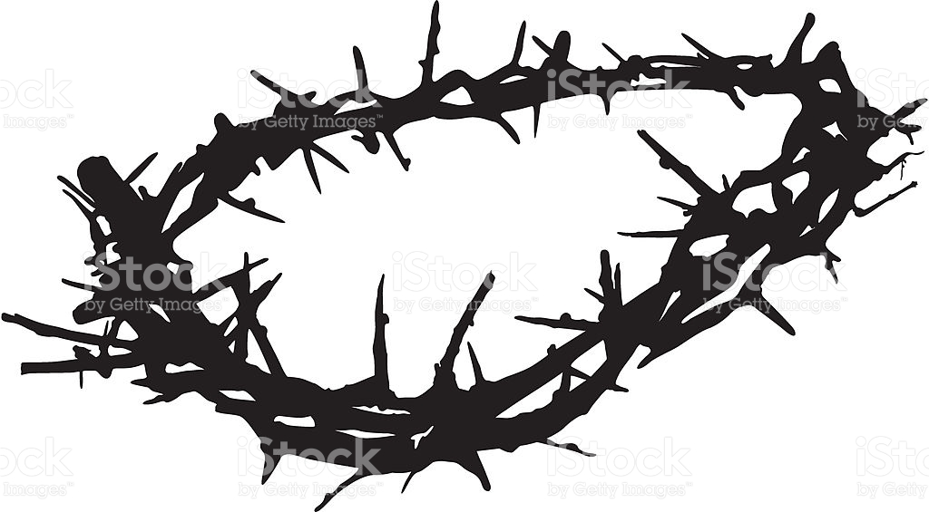 Crown Of Thorns stock vector art 165034517.