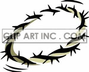 Thorns of means of clipart #4