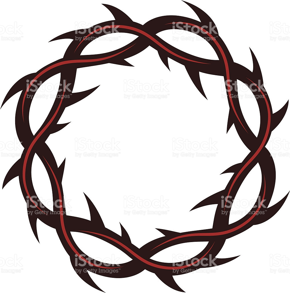 Crown Of Thorns stock vector art 165911127.