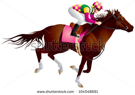 Thoroughbred Racing Stock Photos, Royalty.
