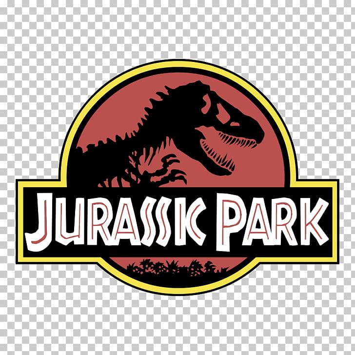 Logo Jurassic Park Dinosaur, thorpe park logo PNG clipart.