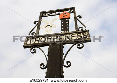 Stock Photography of England, Suffolk, Thorpeness. Thorpeness.
