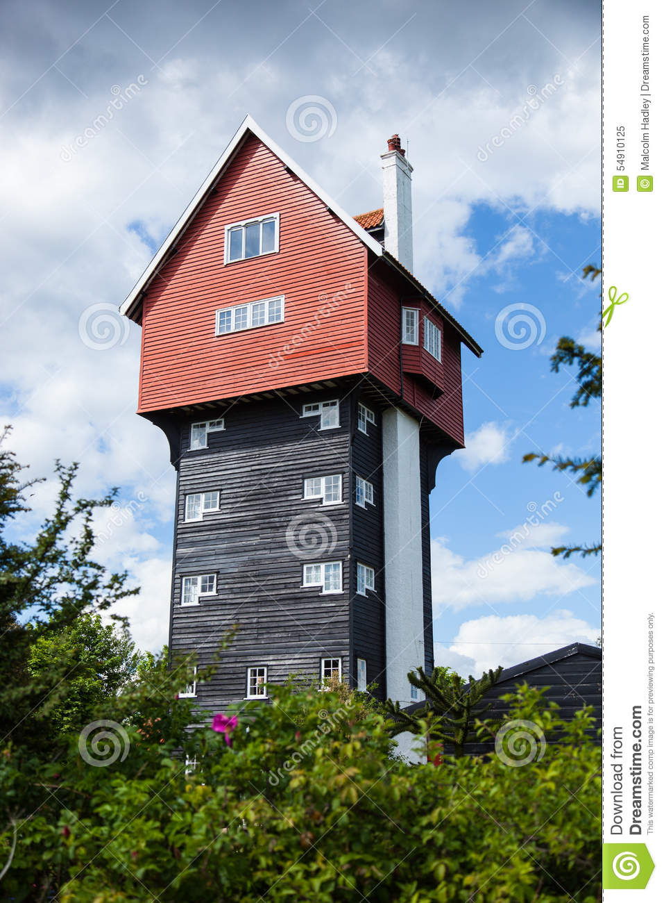 The House In The Clouds, Thorpeness, Suffolk, England Stock Photo.