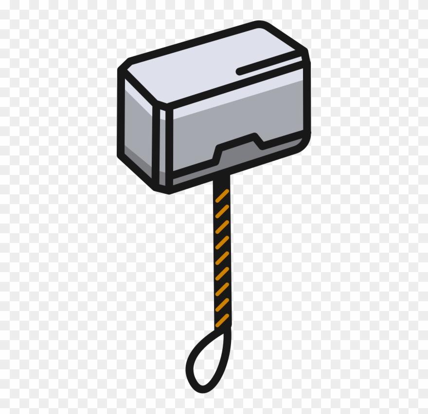 S5 Thor Hammer Clipart (#1831002).