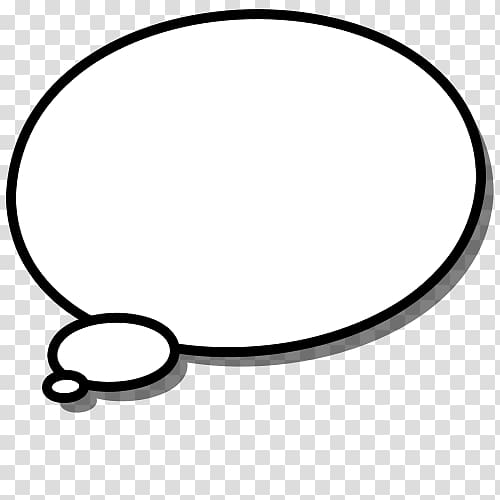 White bubble message, Thought Speech balloon Free content.