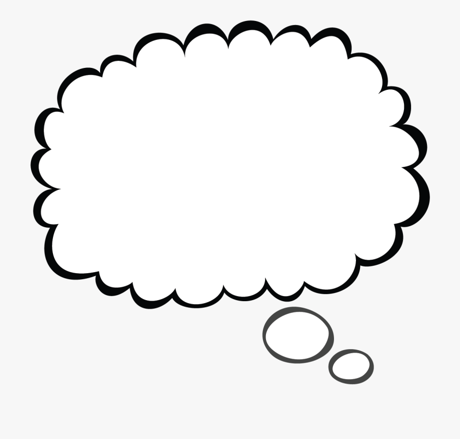 Thought Bubble Sketch Png.