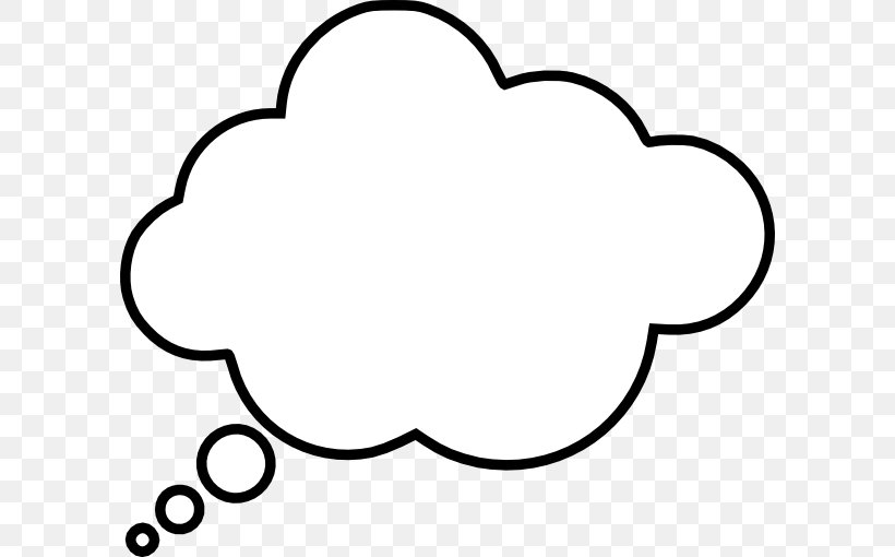 Thought Speech Balloon Clip Art, PNG, 600x510px, Thought.