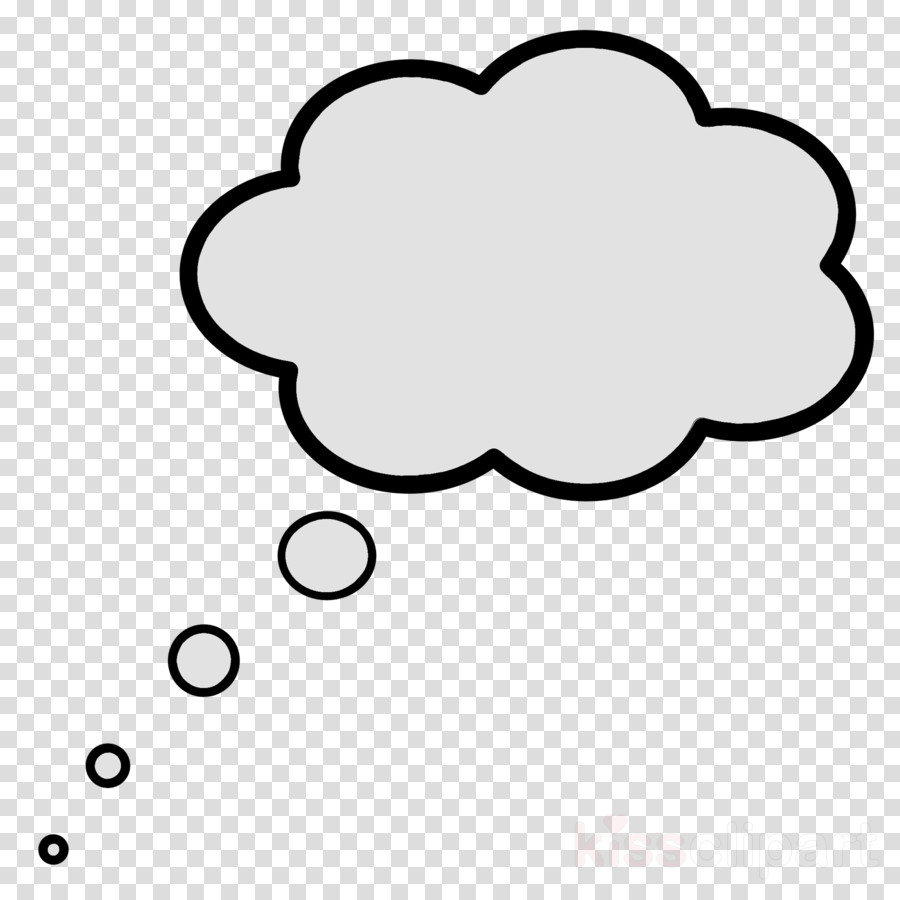 Thought Cloud clipart.