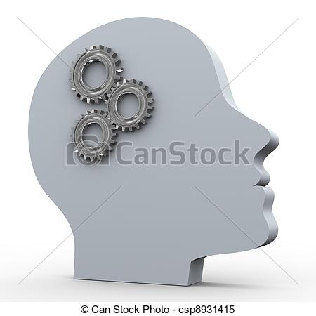 Stock Illustrations of Thought process.