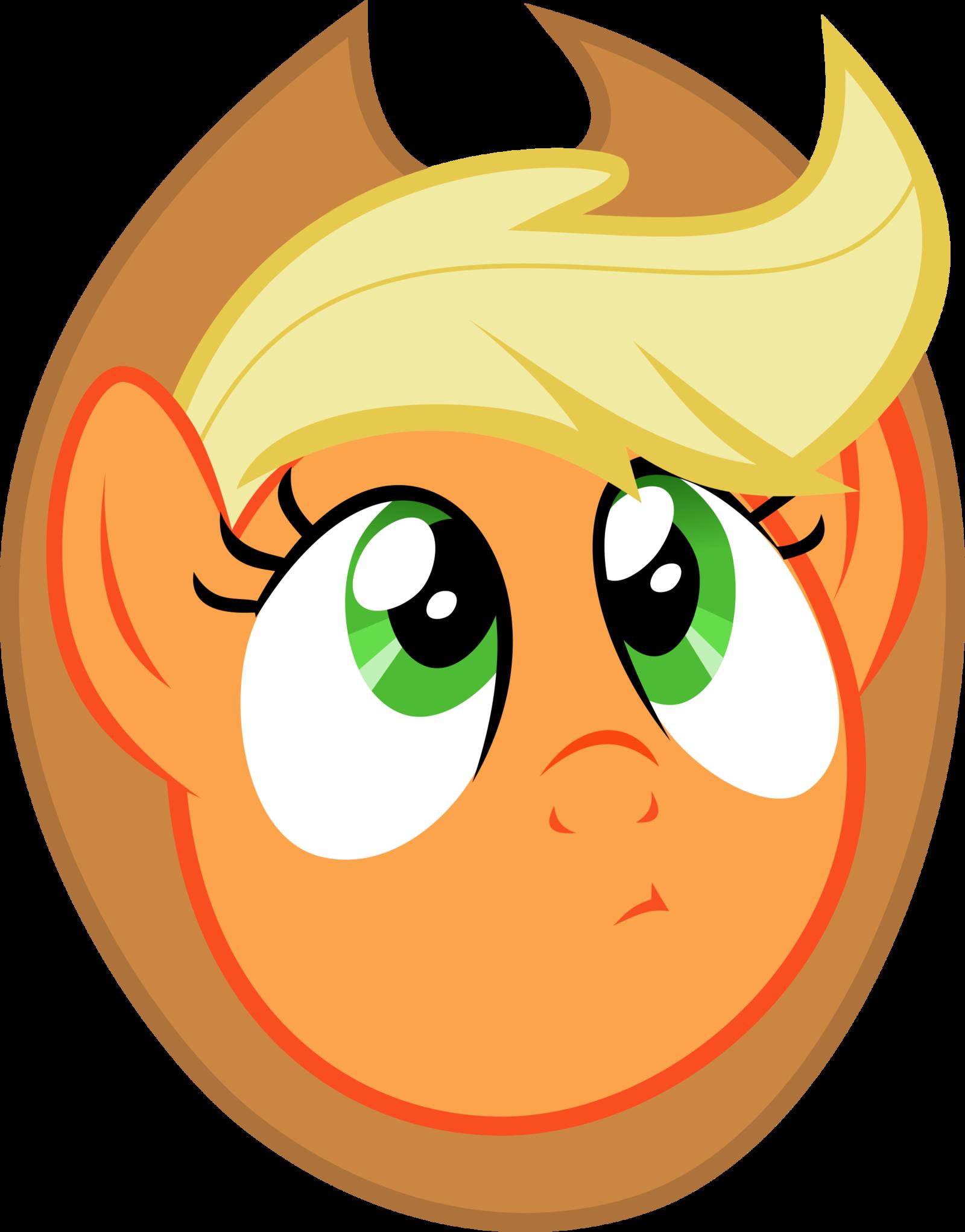 Applejack thoughtful face by xbi on DeviantArt.