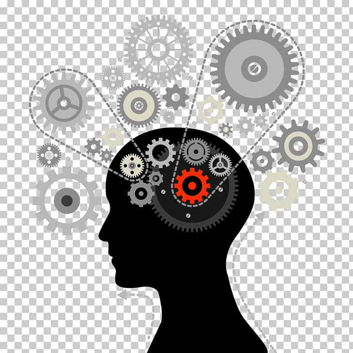 Mind Human brain Thought, of the brain gear, several cogs.