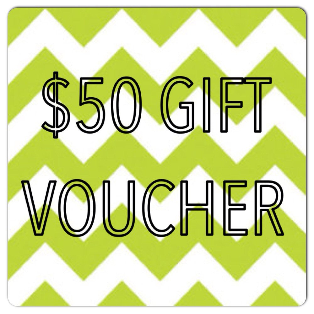 $50 Gift Certificate.