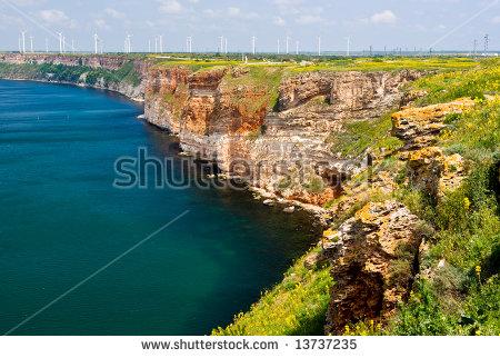 Black Sea Bulgaria Stock Images, Royalty.