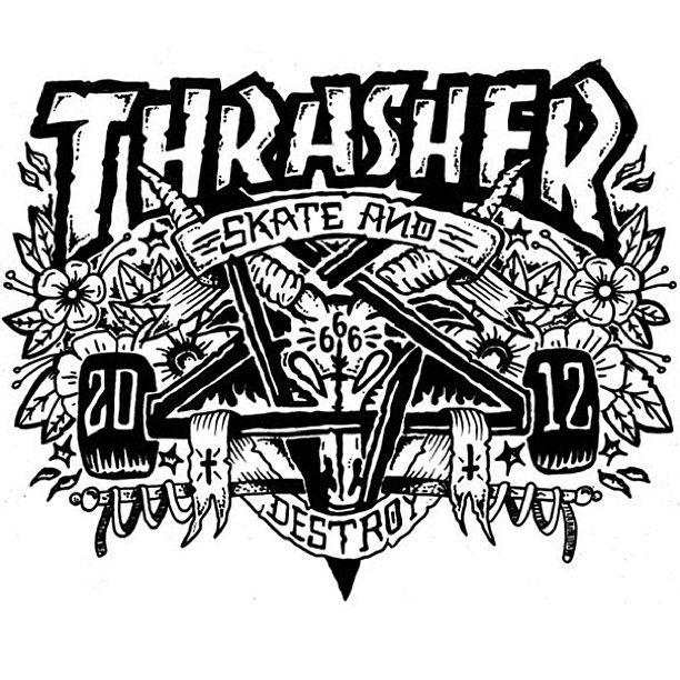 Thrasher #Magazine.