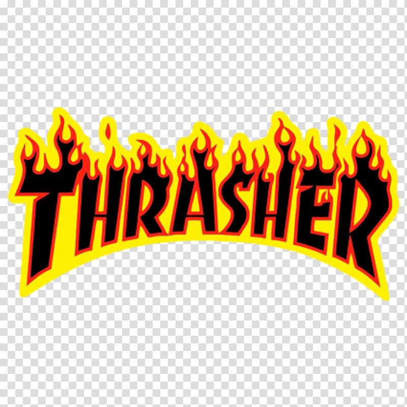 Thrasher Presents Skate and Destroy Skateboarding Sticker.