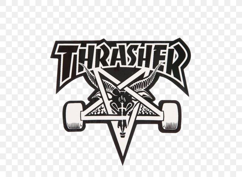 Thrasher Skateboarding Iron.