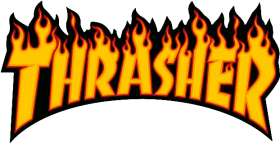 Download thrasher flame logo.