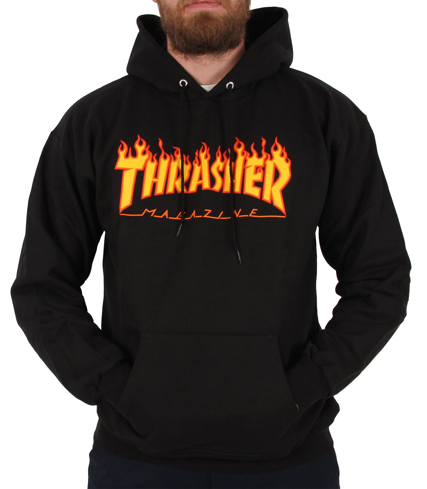 Details about Thrasher Flame Logo Hoodie.