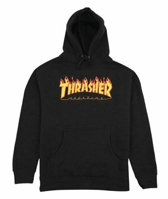 NWT Brand New Thrasher Flame Logo Hoodie.