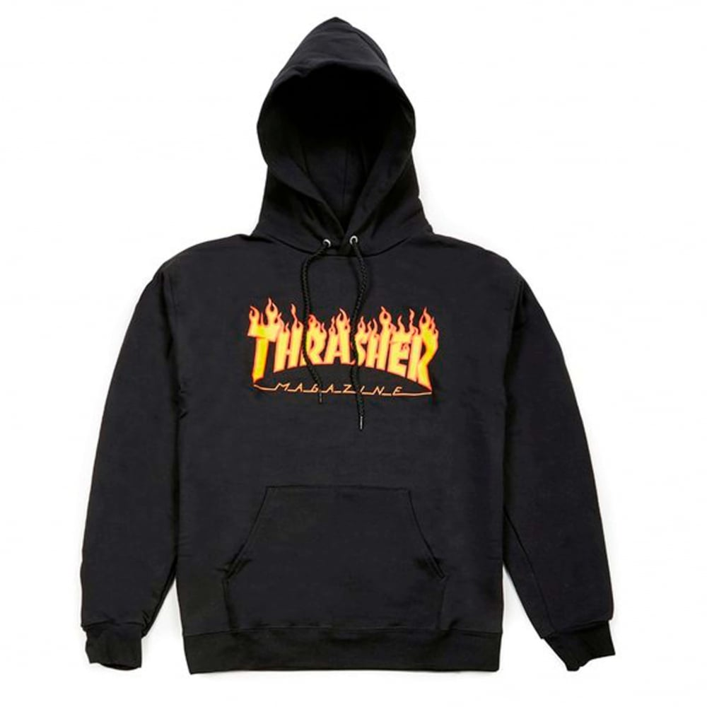 Flame Logo Hood.