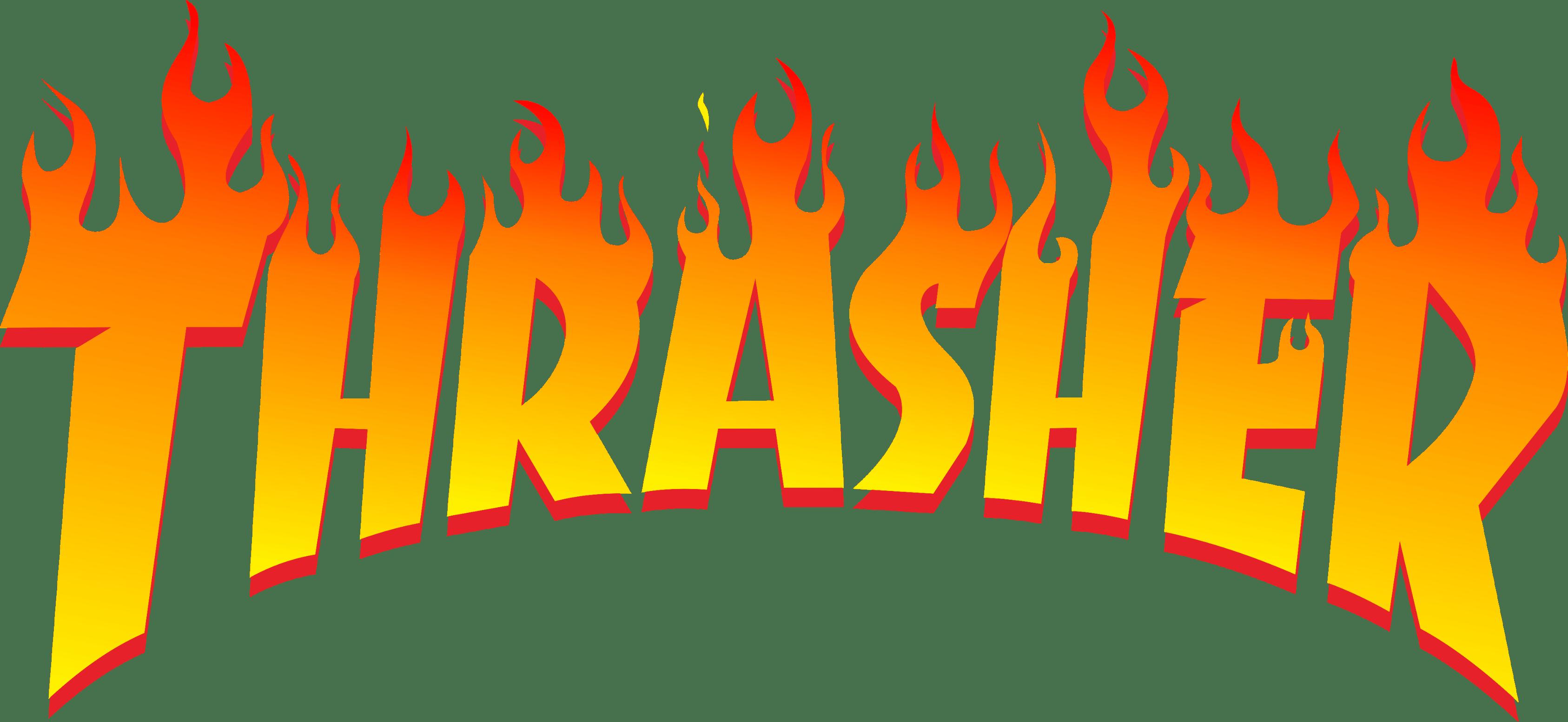 HD Thrasher Logo Thrasher Png Transparent PNG Image Download.