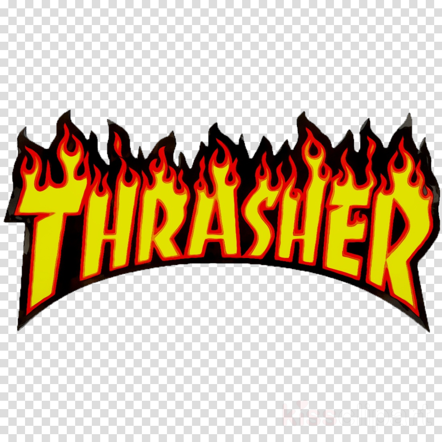 Thrasher Logo clipart.
