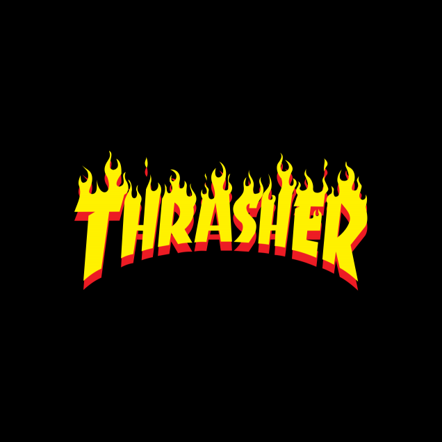 Wallpaper HD Thrasher Logo 2019.