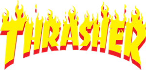 Thrasher Logo Vectors Free Download.