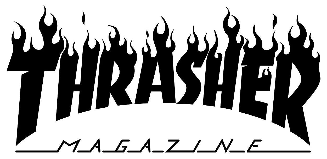 Thrasher Magazine Logo.