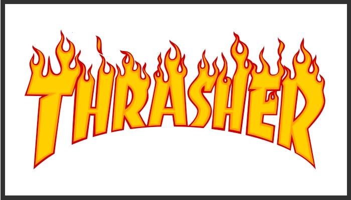 Thrasher magazine.