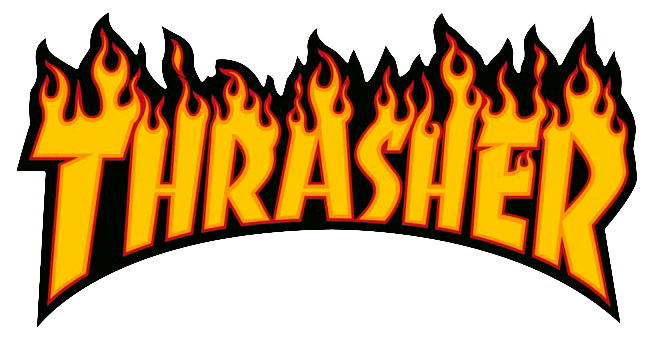 Details about Thrasher Magazine Logo T.
