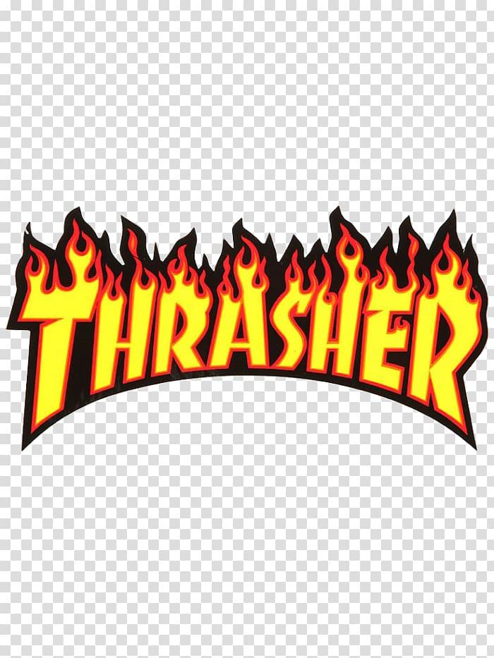 Thrasher logo, Thrasher Skateboarding Magazine Supreme.