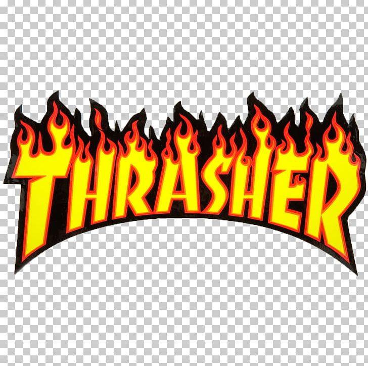 Thrasher Skateboarding Magazine Grip Tape PNG, Clipart.