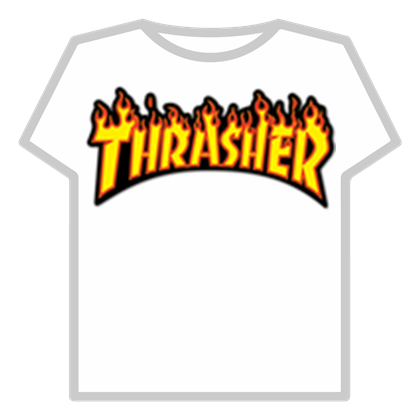 Thrasher t shirt clipart clipart images gallery for free.