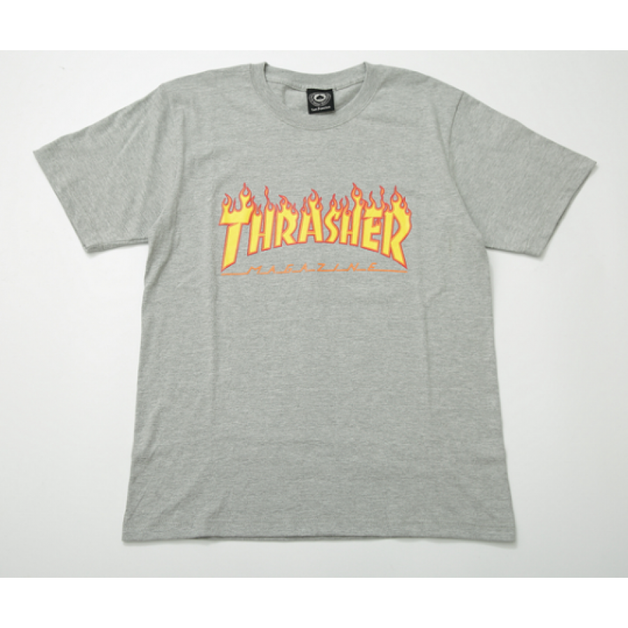 Thrasher On Fire Logo T.