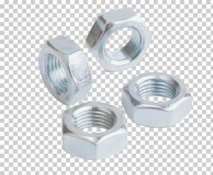 Jam nut Locknut Screw thread Carbon steel, steel Circle PNG.