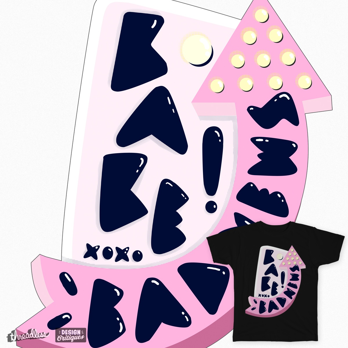 Score Bad news babe by siyi on Threadless.