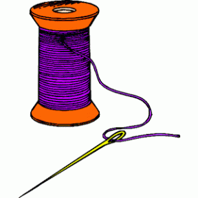 Sewing Threads Clipart.