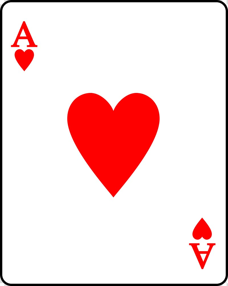 Playing card Suit Ace of hearts, Heart Playing Cards.