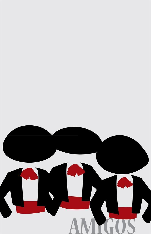 Three Amigos.