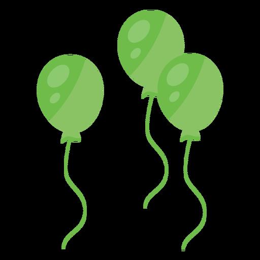 Balloon string three flat.