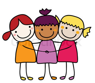 Three best black friends clipart clipart images gallery for.