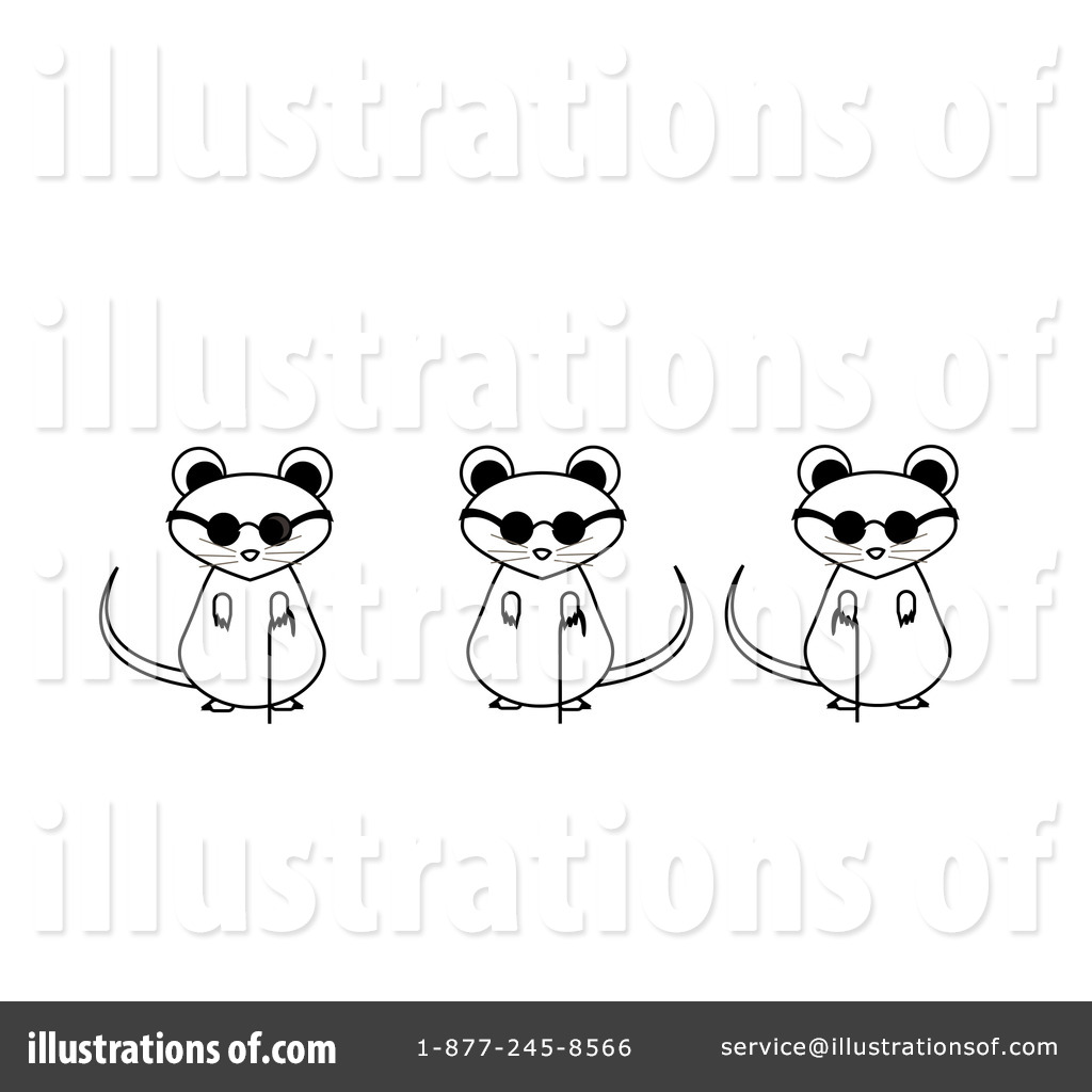 Blind Mice Clipart #82804.
