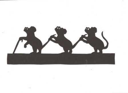 Gallery For Three Blind Mice Clip Art.
