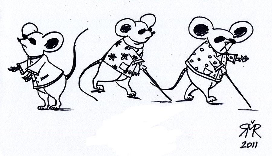 Three Blind Mice By Predator2101 On DeviantArt.