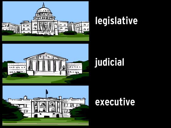 Judicial branch building clipart.