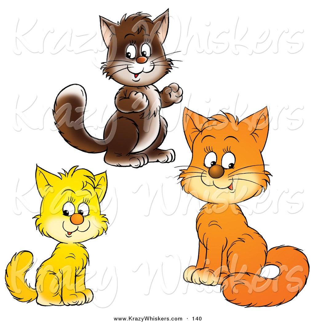 Three cats clipart 3 » Clipart Portal.